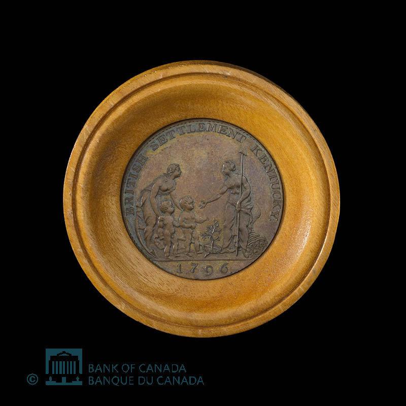 Canada, Copper Company of Upper Canada, 1/2 penny : 1796