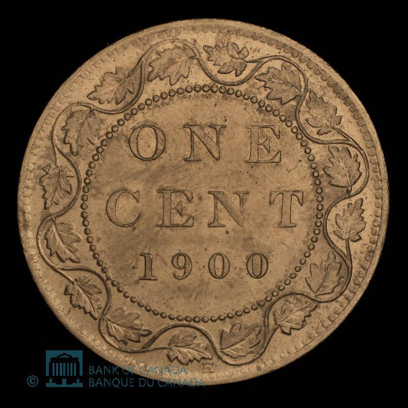 Canada, Victoria, 1 cent : 1900