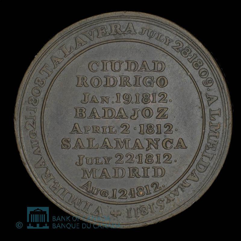 Canada, J.K. Picard, 1/2 penny : 1812