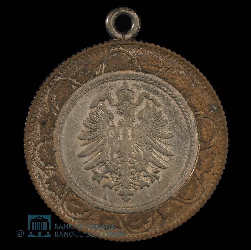 Allemagne, inconnu, 5 pfennig : 1874