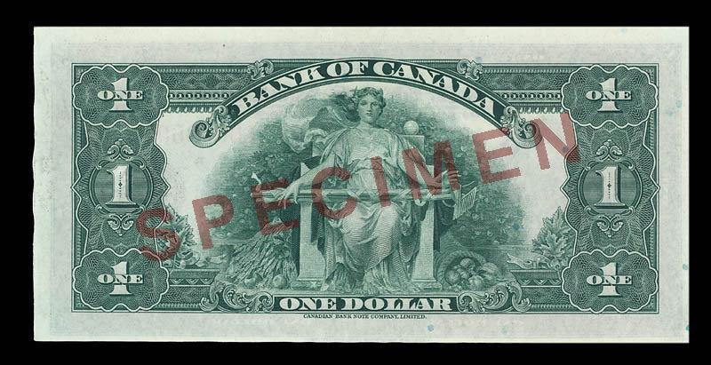Canada, Banque du Canada, 1 dollar : 1935