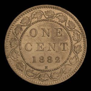 Canada, Victoria, 1 cent : 1882