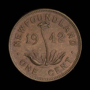 Canada, Georges VI, 1 cent : 1942