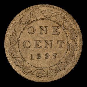 Canada, Victoria, 1 cent : 1897