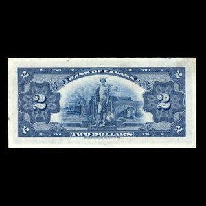 Canada, Banque du Canada, 2 dollars : 1935