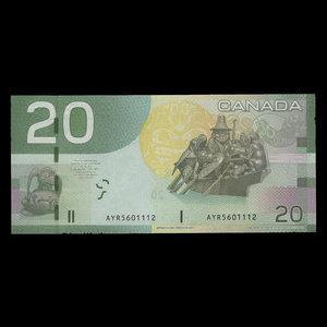 Canada, Banque du Canada, 20 dollars : 2004
