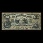 Canada, Banque Nouvelle-Écosse, 10 dollars <br /> 2 janvier 1917