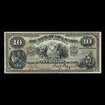 Canada, Banque Nouvelle-Écosse, 10 dollars <br /> 2 janvier 1903