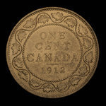 Canada, Georges V, 1 cent <br /> 1912
