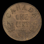 Canada, Georges V, 1 cent <br /> 1928