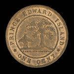 Canada, Victoria, 1 cent <br /> 1871