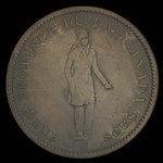 Canada, Banque du Peuple (People's Bank), 1 penny <br /> 1837