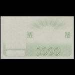 Canada, Dominion du Canada, 1,000 dollars <br /> 2 janvier 1901