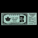 Canada, Parti Progressiste-Conservateur du Canada, aucune dénomination <br /> 1962