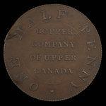 Canada, Copper Company of Upper Canada, 1/2 penny <br /> 1794