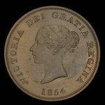 Canada, Province du Nouveau-Brunswick, 1 penny <br /> 1854