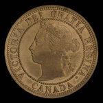 Canada, Victoria, 1 cent <br /> 1882
