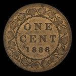 Canada, Victoria, 1 cent <br /> 1888