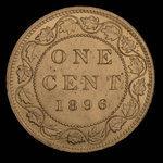 Canada, Victoria, 1 cent <br /> 1896