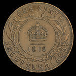Canada, Georges V, 1 cent <br /> 1919