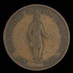Canada, Banque du Peuple (People's Bank), 1/2 penny <br /> 1837