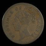 Canada, Province de la Nouvelle-Écosse, 1 penny <br /> 1840