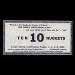 Canada, Lillooet Centennial Committee, 10 pépites <br /> 6 août 1967