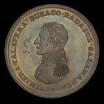 Canada, inconnu, 1 penny <br /> 1814