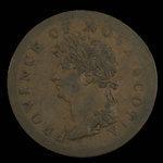 Canada, Province de la Nouvelle-Écosse, 1/2 penny <br /> 1823