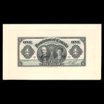 Canada, Dominion du Canada, 1 dollar <br /> 3 janvier 1911