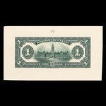 Canada, Dominion du Canada, 1 dollar <br /> 17 mars 1917