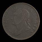 Canada, Province de la Nouvelle-Écosse, 1/2 penny <br /> 1382