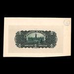 Canada, Dominion du Canada, 1 dollar <br /> 31 mars 1898