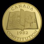 Canada, Élisabeth II, 100 dollars : 1982