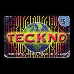 Canada, Teckno, 5 dollars <br /> juin 2003