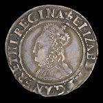 Angleterre, Élisabeth I, 1 groat <br /> 1561