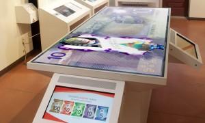 Table rétroéclairée et écrans