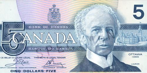 1986-5-dollar-recto_Gerald-Bouey