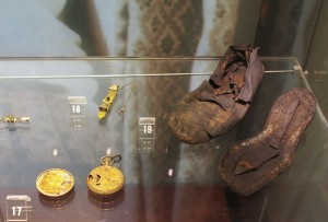 Personal items raised from the wreck of the Empress of Ireland