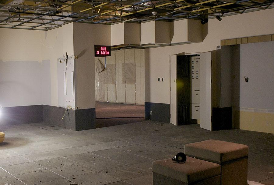 galerie 2 de l'ancien Musée de la monnaie, en démolition