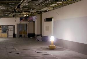 galerie 4 de l'ancien Musée de la monnaie, en démolition