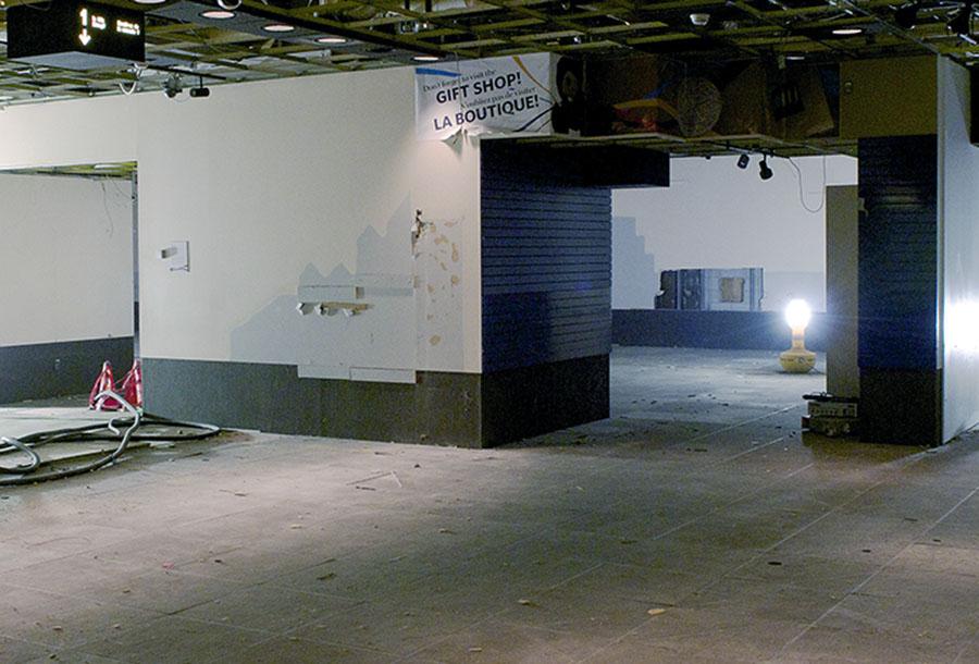 galerie 1 de l'ancien Musée de la monnaie, en démolition