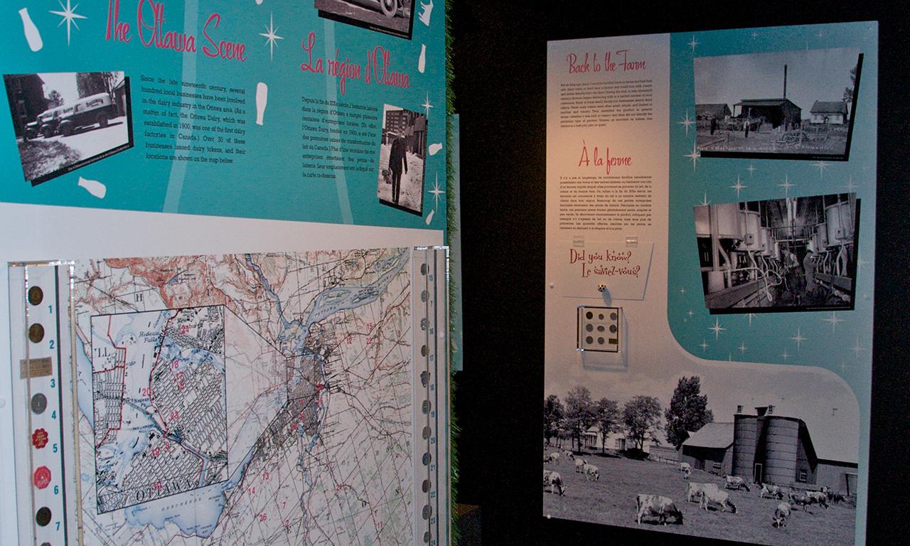 Panneaux de musée