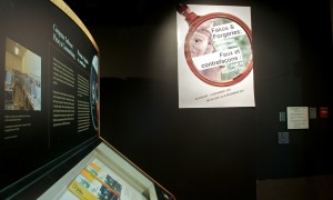 Panneau-titre de l'exposition