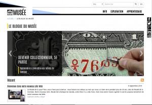 « Habillage » de la page d'accueil : image composée en Photosphop ajoutée au prototype de la page Web.
