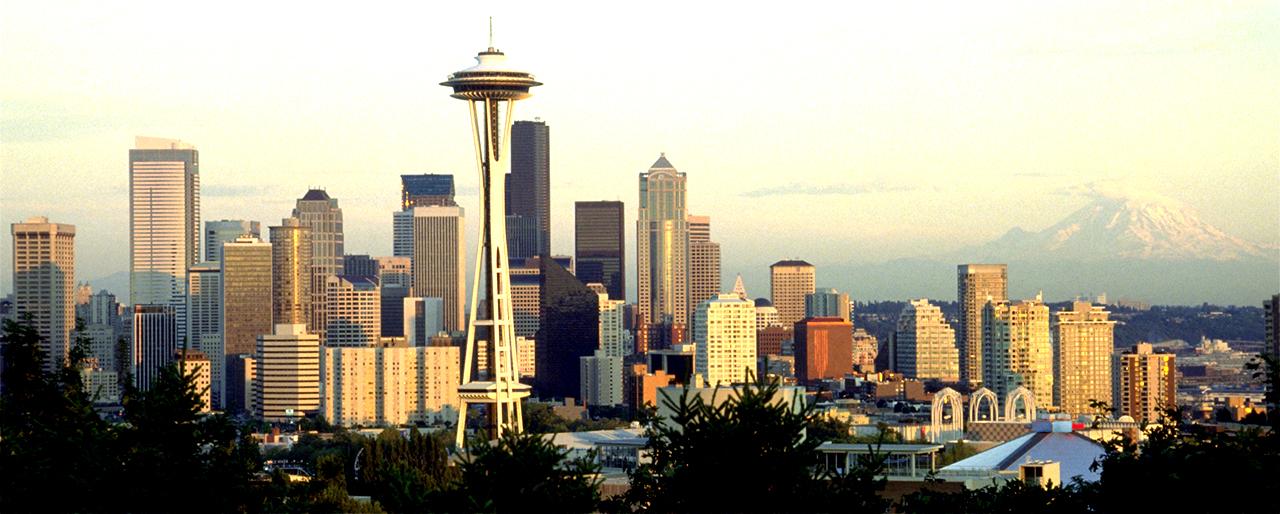 Vue de la ville de Seattle