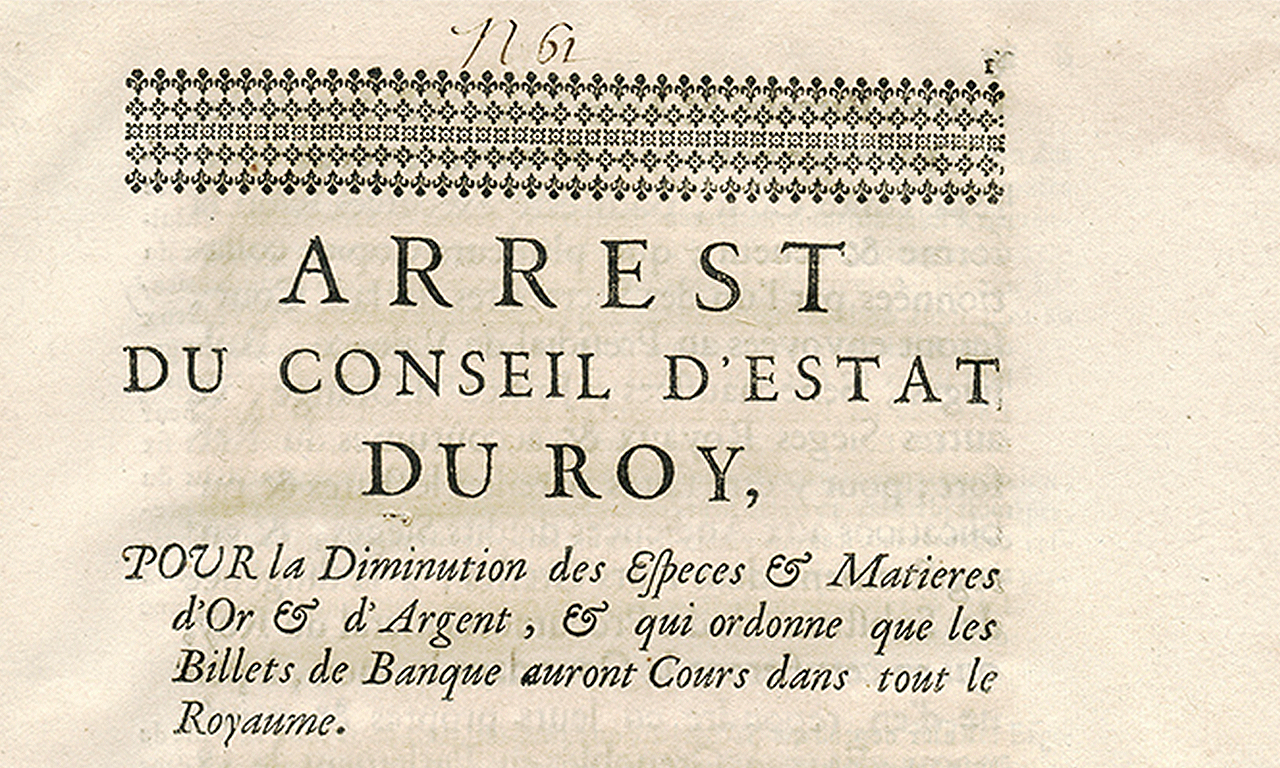 Ancien document français