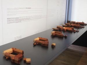 Maquettes de bâtiments (en bois)