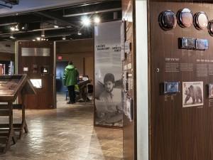 Panneaux d'exposition dans un musée