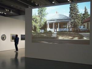 Image projetée d'une maison